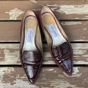 Jimmy Choo Womens Shoes Plum Size 38